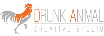 Drunk Animal Logo