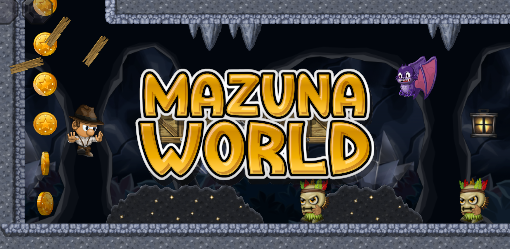 Mazuna World - Platform game for Android