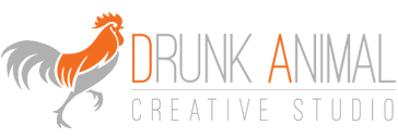 Drunk Animal Logo