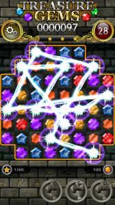 Treasure Gems - Casual Puzzle Game