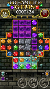 Treasure Gems - Challenging Match 3 Puzzle for Android
