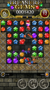 Treasure Gems - Match 3 Puzzle for Android