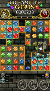 Treasure Gems - Classic Match 3 Puzzle for Android